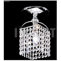 James R. Moder 40741S11 Contemporary Collection 1 Light 6 inch Silver Flush Mount Ceiling Light