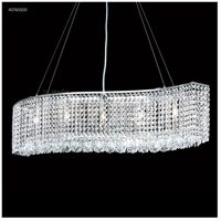 James R. Moder 40765S00 Contemporary 5 Light 7 inch Silver Mini Chandelier Ceiling Light