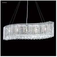 James R. Moder 40765S11 Contemporary Collection 5 Light 7 inch Silver Chandelier Ceiling Light