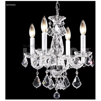 James R. Moder 40794S00 Palace Ice 4 Light 14 inch Silver Mini Chandelier Ceiling Light