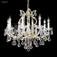 James R. Moder 40808GL00 Maria Theresa 9 Light 25 inch Gold Lustre Chandelier Ceiling Light