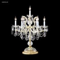 James R. Moder 40809GL00 Maria Theresa 27 inch 60 watt Gold Lustre Table Lamp Portable Light