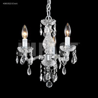 Signature 3 Light 12 inch Silver Mini Chandelier Ceiling Light
