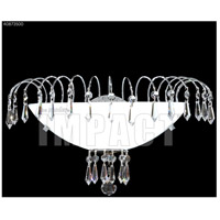 James R. Moder 40873S00 Spring Rain 1 Light Silver Wall Sconce Wall Light