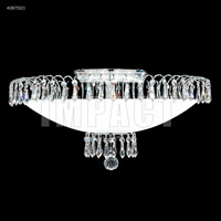 James R. Moder 40875S11 Contemporary 8 Light 22 inch Silver Chandelier Ceiling Light