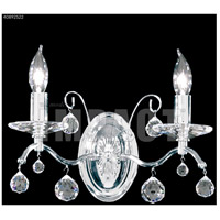 James R. Moder 40892S22 Regalia 2 Light Silver Wall Sconce Wall Light