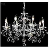 James R. Moder 40898S22 Regalia 8 Light 26 inch Silver Chandelier Ceiling Light