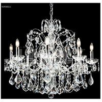 James R. Moder 40908S11 Regalia Collection 8 Light 28 inch Silver Chandelier Ceiling Light