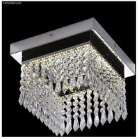 James R. Moder 41010S00LED Galaxy Collection LED 10 inch Silver Chandelier Ceiling Light