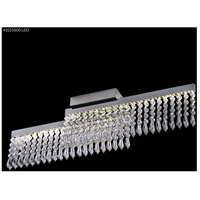 James R. Moder 41015S00LED Galaxy Collection LED 4 inch Silver Chandelier Ceiling Light