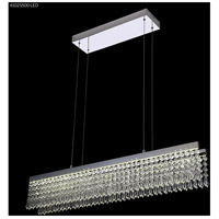James R. Moder 41025S00LED Galaxy Collection LED 5 inch Silver Chandelier Ceiling Light