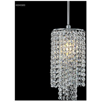James R. Moder 41041S00 Contemporary Collection 1 Light 6 inch Silver Chandelier Ceiling Light