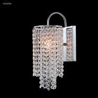James R. Moder 41042S00 Contemporary Collection 1 Light 6 inch Silver Chandelier Ceiling Light