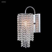 James R. Moder 41042S11 Contemporary Collection 1 Light 6 inch Silver Chandelier Ceiling Light