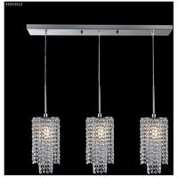 James R. Moder 41043S22 Contemporary Collection 3 Light 6 inch Silver Chandelier Ceiling Light