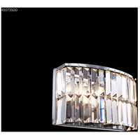 James R. Moder 41073S00 Vanity Light Collection 3 Light 11 inch Silver Vanity Light Wall Light