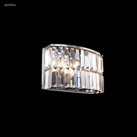 James R. Moder 41073S11 Vanity Light Collection 3 Light 11 inch Silver Vanity Light Wall Light