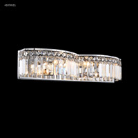 James R. Moder 41074S11 Vanity Light Collection 4 Light 22 inch Silver Vanity Light Wall Light