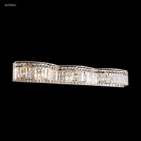 James R. Moder 41078S11 Vanity Light Collection 8 Light 33 inch Silver Vanity Light Wall Light