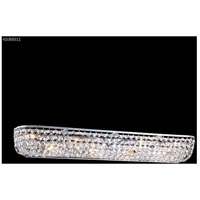 James R. Moder 41088S11 Vanity Light Collection 8 Light 33 inch Silver Vanity Light Wall Light