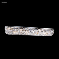 James R. Moder 41088S22 Vanity Light Collection 8 Light 33 inch Silver Vanity Light Wall Light