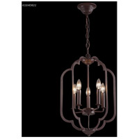 James R. Moder 41104DB22 Lantern 5 Light 16 inch Dark Brown Crystal Chandelier Ceiling Light
