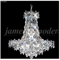 James R. Moder 91332S00 Continental Fashion 16 Light 25 inch Silver Chandelier Ceiling Light