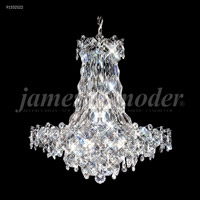 James R. Moder 91332S22 Continental Fashion 16 Light 25 inch Silver Chandelier Ceiling Light