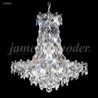 James R. Moder 91333S22 Continental Fashion 31 Light 34 inch Silver Chandelier Ceiling Light
