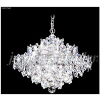 James R. Moder 91337S00 Continental Fashion 13 Light 21 inch Silver Chandelier Ceiling Light