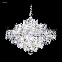 Continental Fashion 25 Light 25 inch Silver Chandelier Ceiling Light