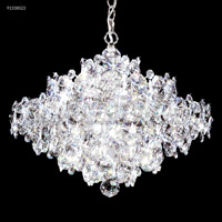 James R. Moder 91338S22 Continental Fashion 25 Light 25 inch Silver Chandelier Ceiling Light