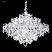 Continental Fashion 37 Light 34 inch Silver Chandelier Ceiling Light
