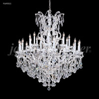 James R. Moder 91690S11 Maria Theresa Grand Collection 25 Light 46 inch Silver Chandelier Ceiling Light Grand