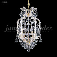 James R. Moder 91695GL00 Maria Theresa 5 Light 14 inch Gold Lustre Pendant Ceiling Light, Grand