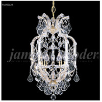 James R. Moder 91695S1X Maria Theresa 5 Light 14 inch Silver Pendant Ceiling Light, Grand