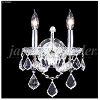 James R. Moder 91702S00 Maria Theresa Grand Collection 2 Light Silver Wall Sconce Wall Light Grand