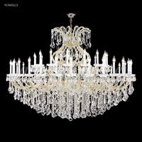 James R. Moder 91760GL11 Maria Theresa 49 Light 77 inch Gold Lustre Chandelier Ceiling Light Grand