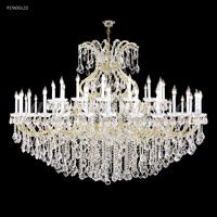 James R. Moder 91760S0T Maria Theresa 49 Light 77 inch Silver Chandelier Ceiling Light Grand