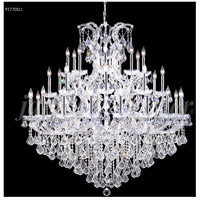 James R. Moder 91770S11 Maria Theresa 37 Light 54 inch Silver Chandelier Ceiling Light Grand
