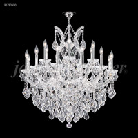 James R. Moder 91790S00 Maria Theresa 19 Light 37 inch Silver Chandelier Ceiling Light Grand