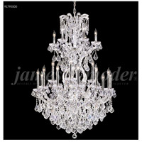 James R. Moder 91795S00 Maria Theresa Grand 25 Light 37 inch Silver Entry Chandelier Ceiling Light Large
