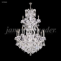 James R. Moder 91795GL11 Maria Theresa 25 Light 37 inch Gold Lustre Chandelier Ceiling Light Grand