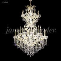 James R. Moder 91796GL00 Maria Theresa 37 Light 46 inch Gold Lustre Chandelier Ceiling Light Grand