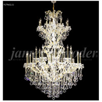 Maria Theresa 37 Light 46 inch Gold Lustre Chandelier Ceiling Light, Grand