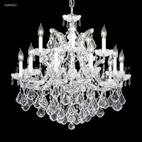 James R. Moder 91800GL2GTX Maria Theresa 16 Light 29 inch Gold Lustre Chandelier Ceiling Light Grand