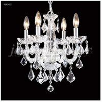 James R. Moder 91804S22 Maria Theresa Grand Collection 4 Light 15 inch Silver Pendant Ceiling Light Grand