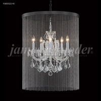 James R. Moder 91805S2GT-45 Maria Theresa 5 Light 18 inch Silver Mini Chandelier Ceiling Light Grand