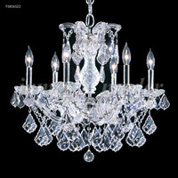 James R. Moder 91806GL2X Maria Theresa 6 Light 23 inch Gold Lustre Chandelier Ceiling Light Grand