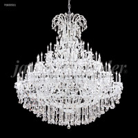 James R. Moder 91830S11 Maria Theresa 128 Light 86 inch Silver Chandelier Ceiling Light Grand